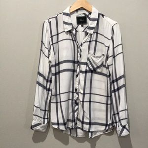 Rails Plaid Blouse